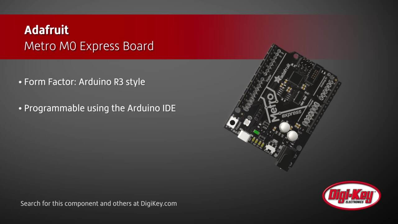 Adafruit Metro M0 Express Board | Digi-Key Daily