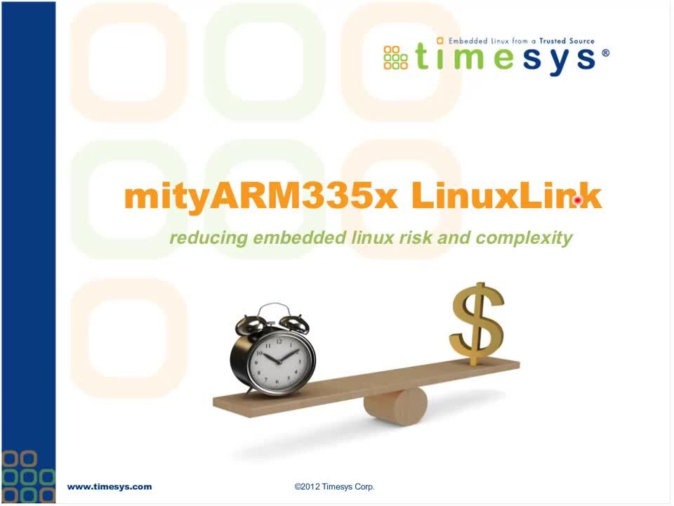 Linux Development on the Sitara AM335x and the MitySOM-335x Made Easy