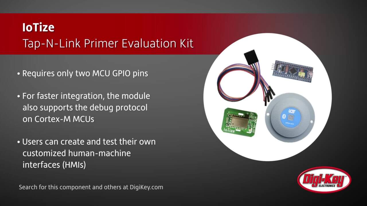 IoTize Tap-N-Link Primer Evaluation Kit | Digi-Key Daily