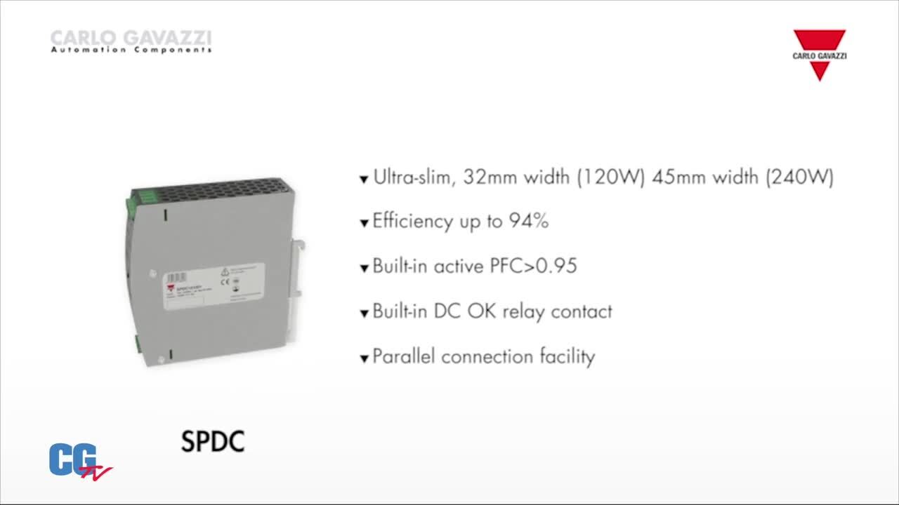 Carlo Gavazzi's Slimline Power Supplies