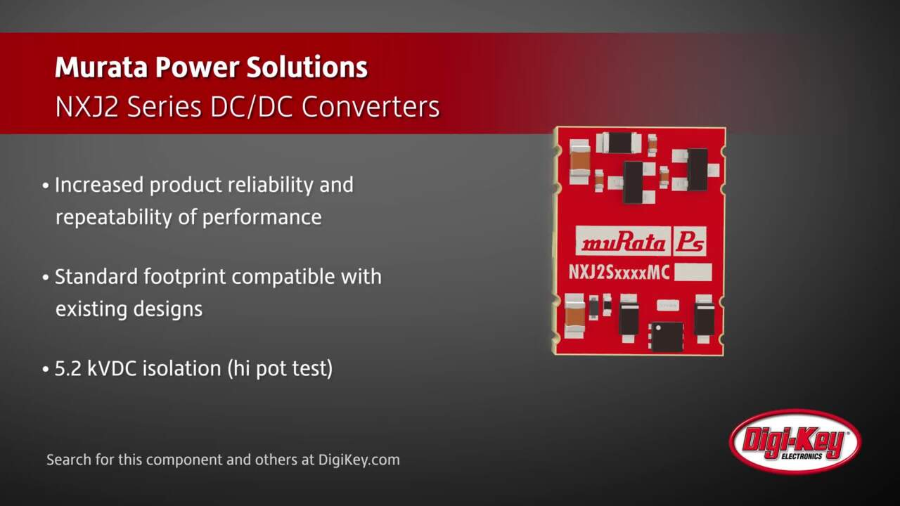 Murata NXJ2 Series DC/DC Converters | Digi-Key Daily