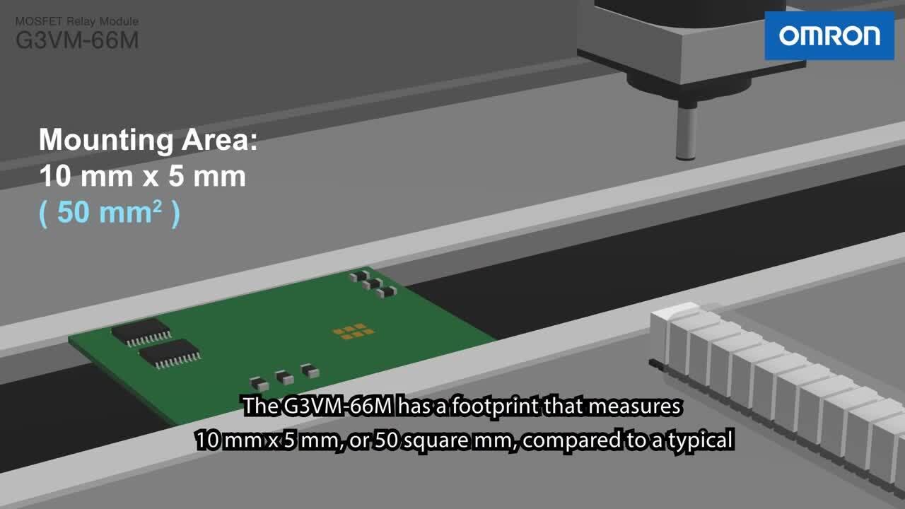 MOS FET Relay Module G3VM-66M