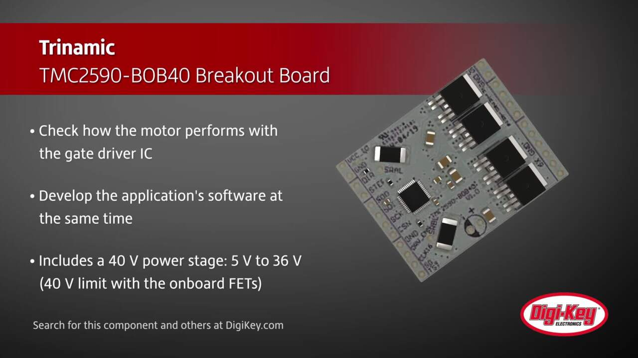 Trinamic TMC2590-BOB40 Breakout Board | Digi-Key Daily