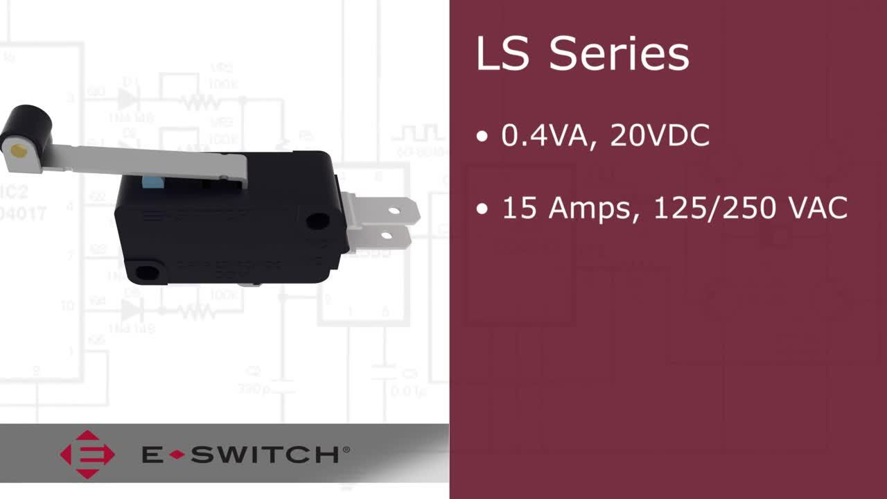 Snap Action Switches: E-Switch LS Series