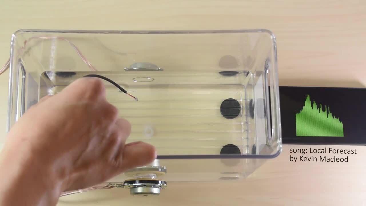 Vesper's piezoelectric MEMS microphone works under water
