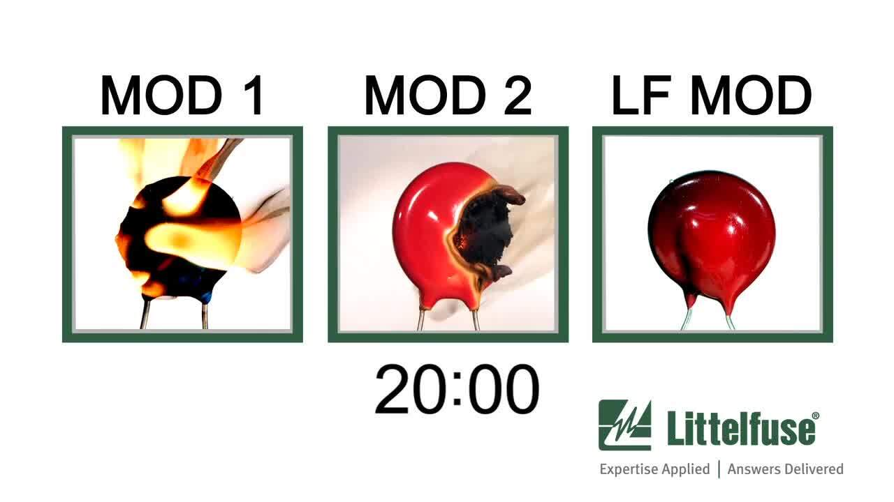 Littelfuse - Thermally Protected MOVs (TMOVs)