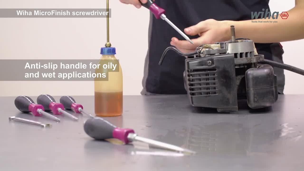 Wiha Screwdriver MicroFinish Tutorial