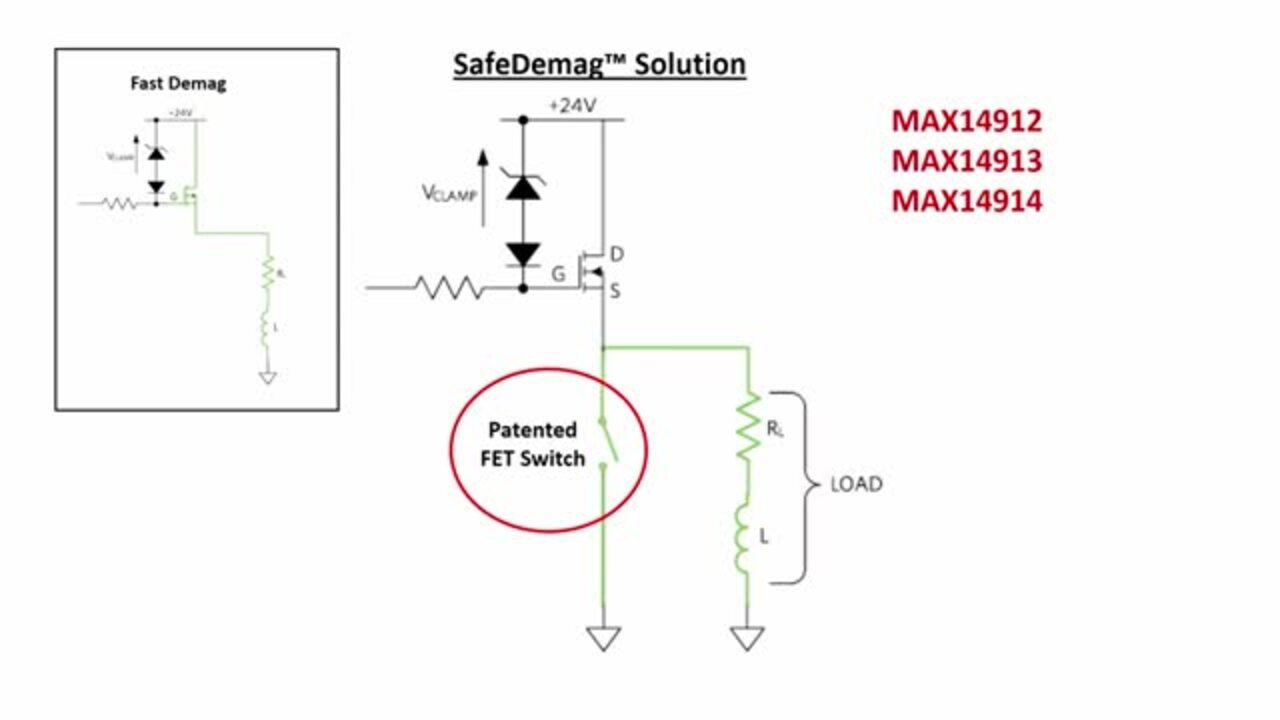 How to Safely Demagnetize Your Inductive Load Using SafeDemag