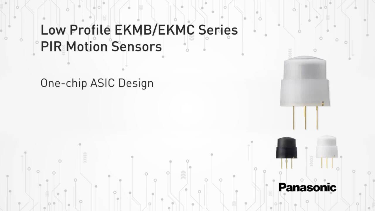 Low Profile PIR Motion Sensors