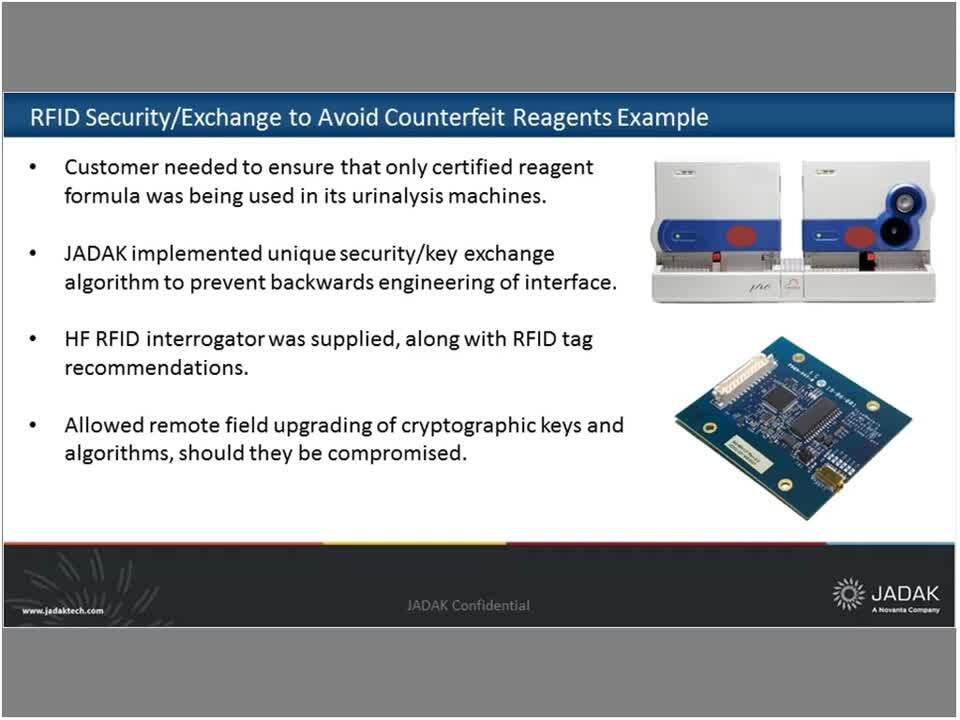 Reagent Authentication with RFID webinar recording