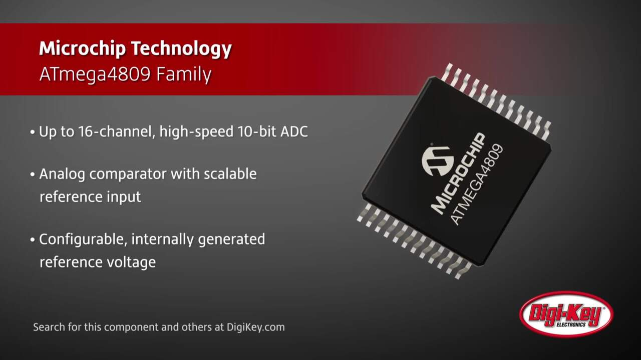 Microchip ATmega4809 Family | Digi-Key Daily