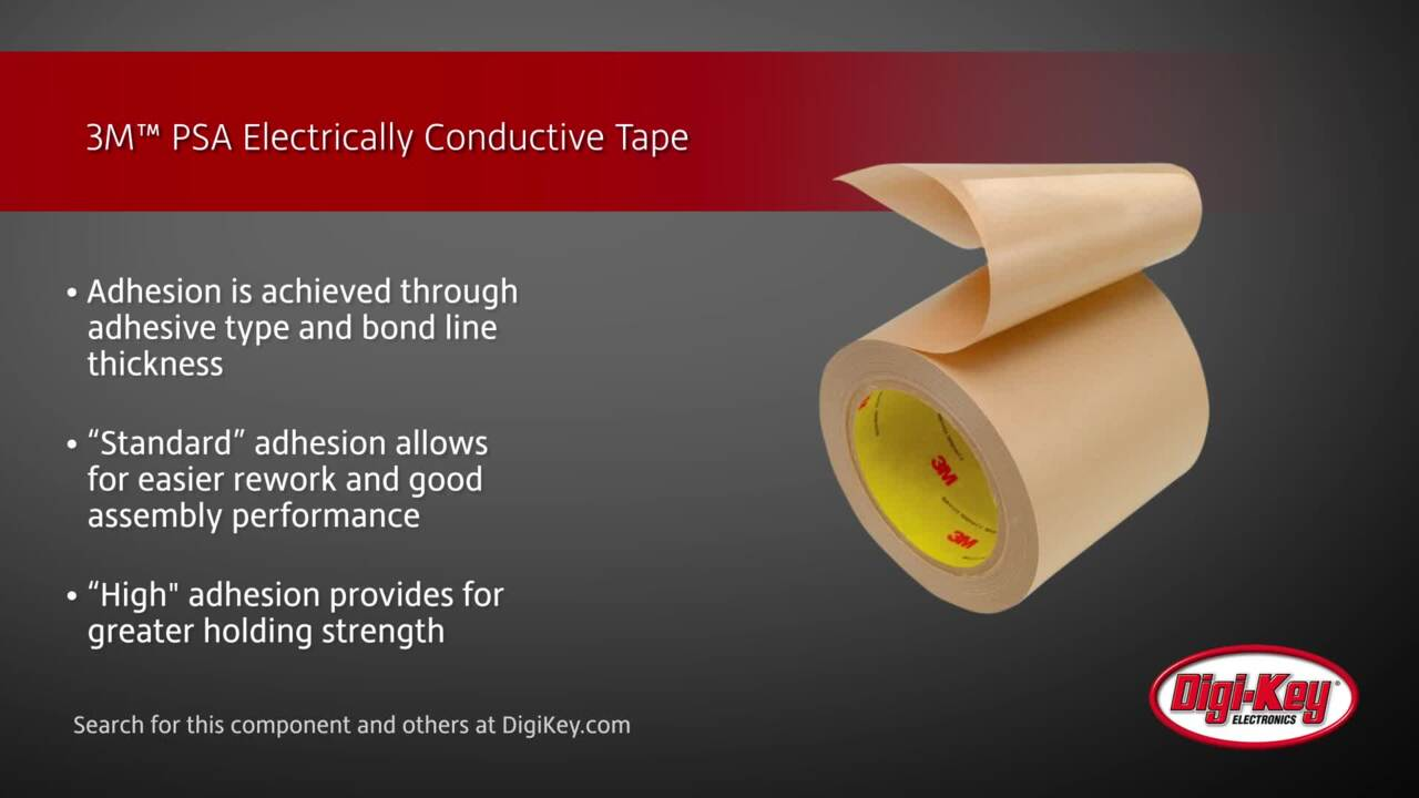 3M™ PSA Electrically Conductive Tape | Digi-Key Daily