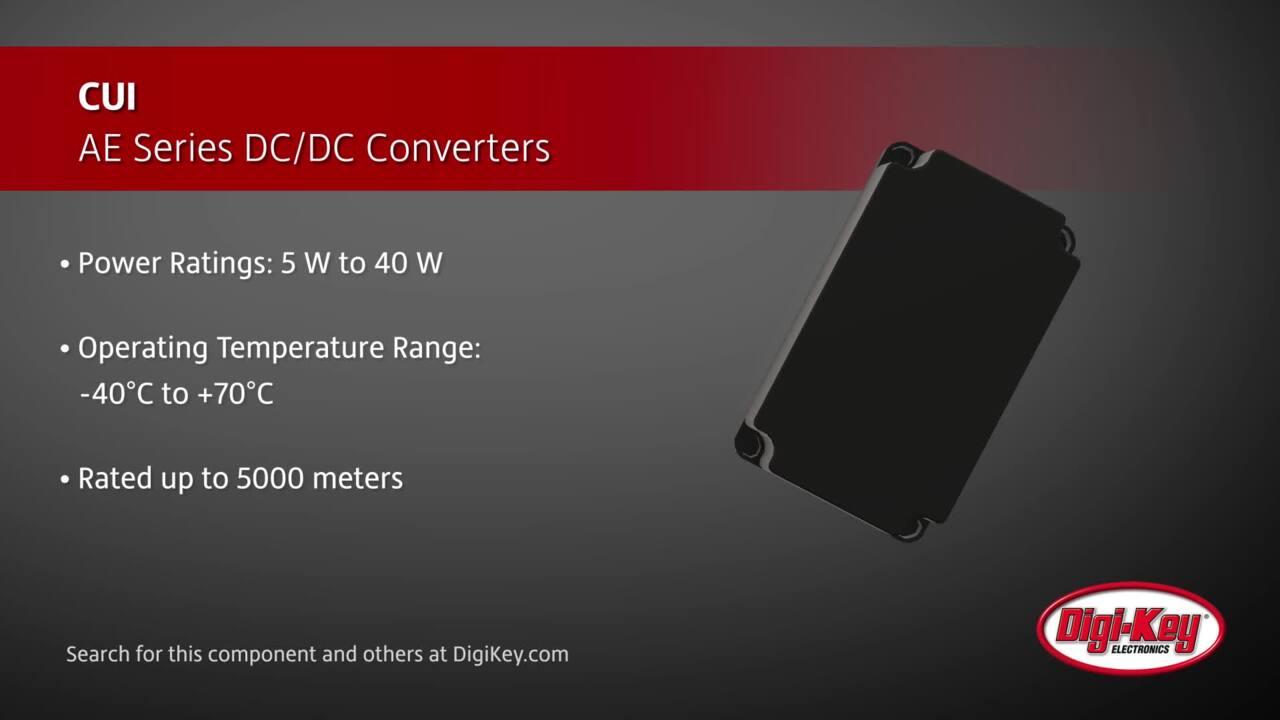 CUI AE Series DC-DC Converters | Digi-Key Daily