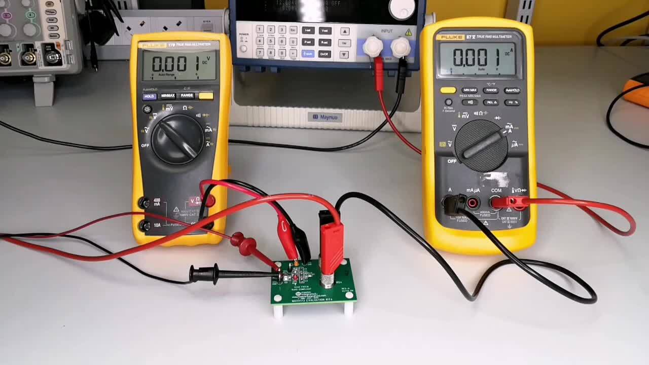How to Measure Current with the MAX4173 Current-Sense Amplifier and a Microcontroller