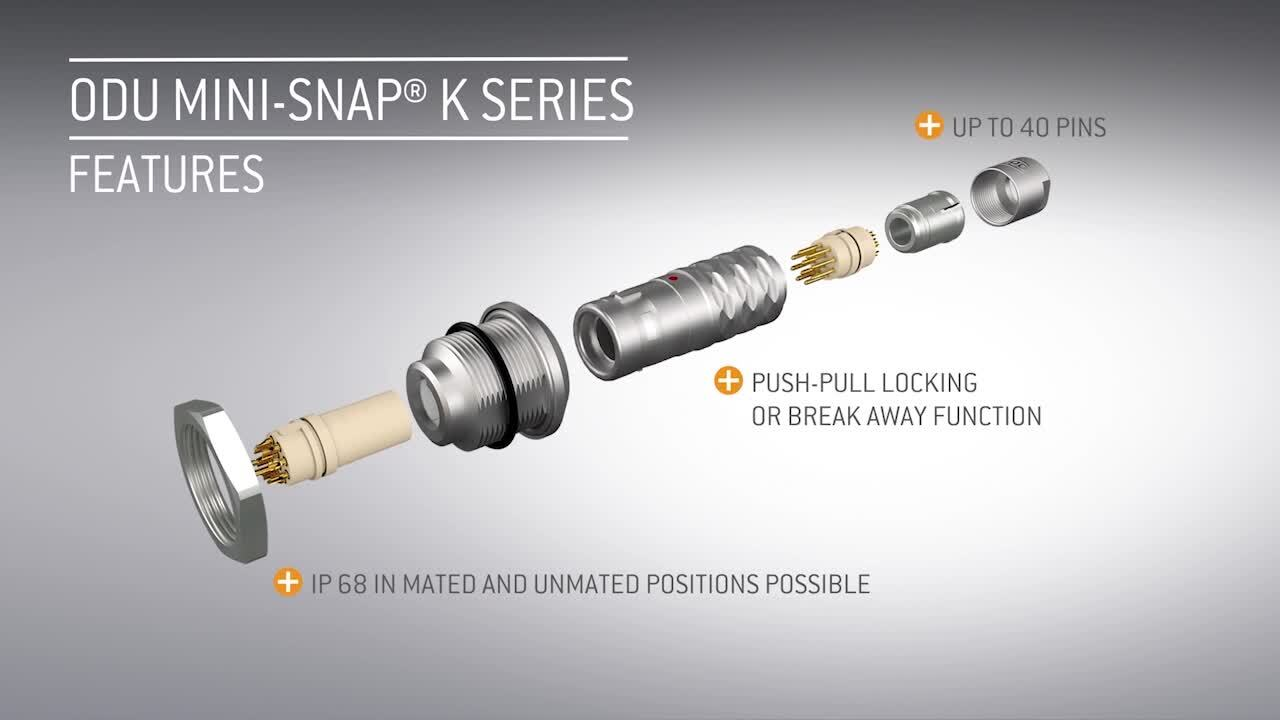 ODU Mini-Snap® L and K Series