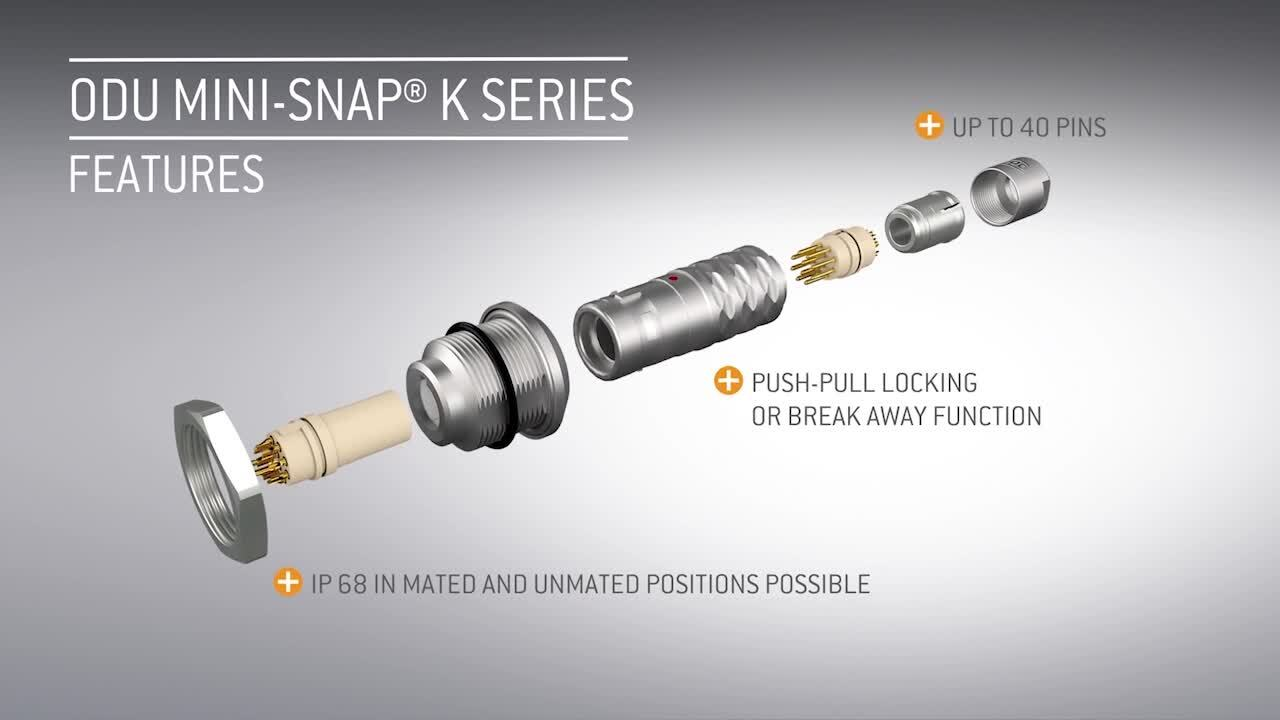 ODU Mini-Snap® L and K Series