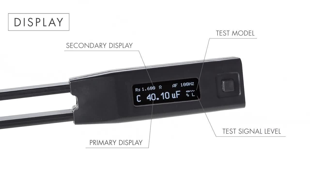 Ideal-tek's LCR Meter Smart Tweezers