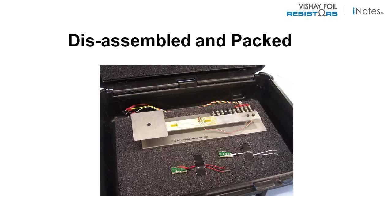 Load Cell Bridge Completion Resistors Demo