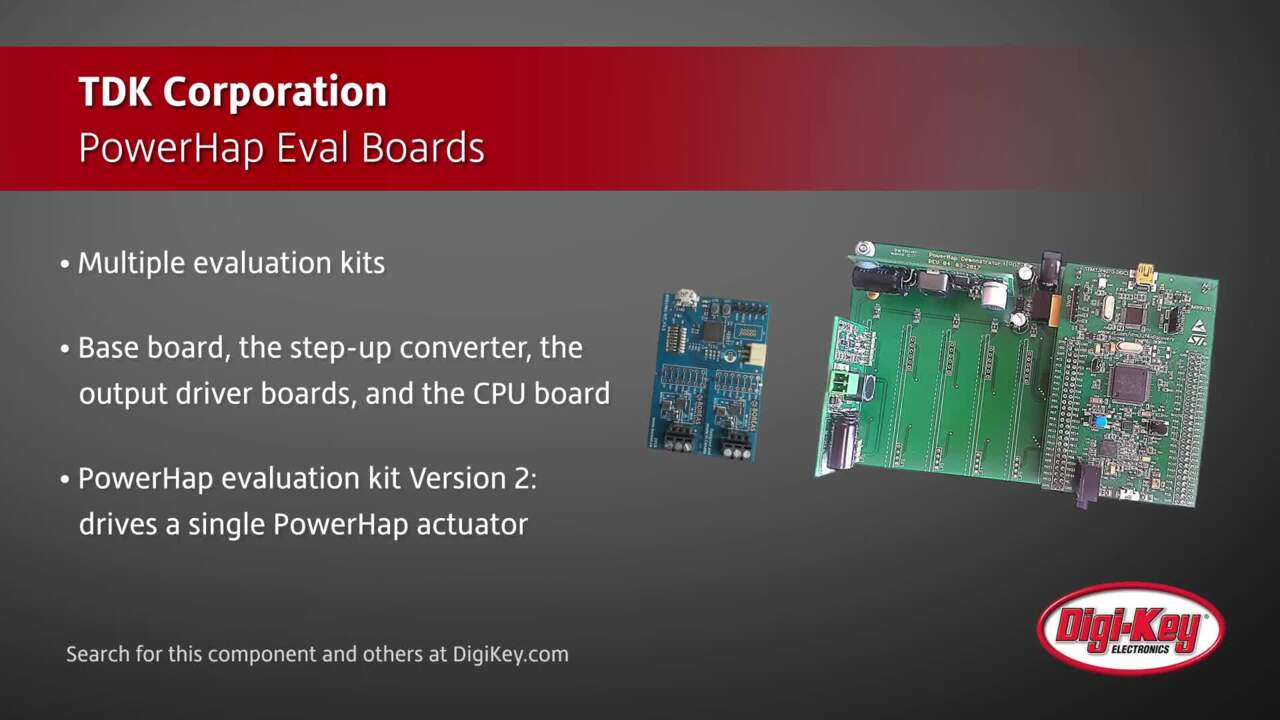 TDK PowerHap Eval Boards | Digi-Key Daily