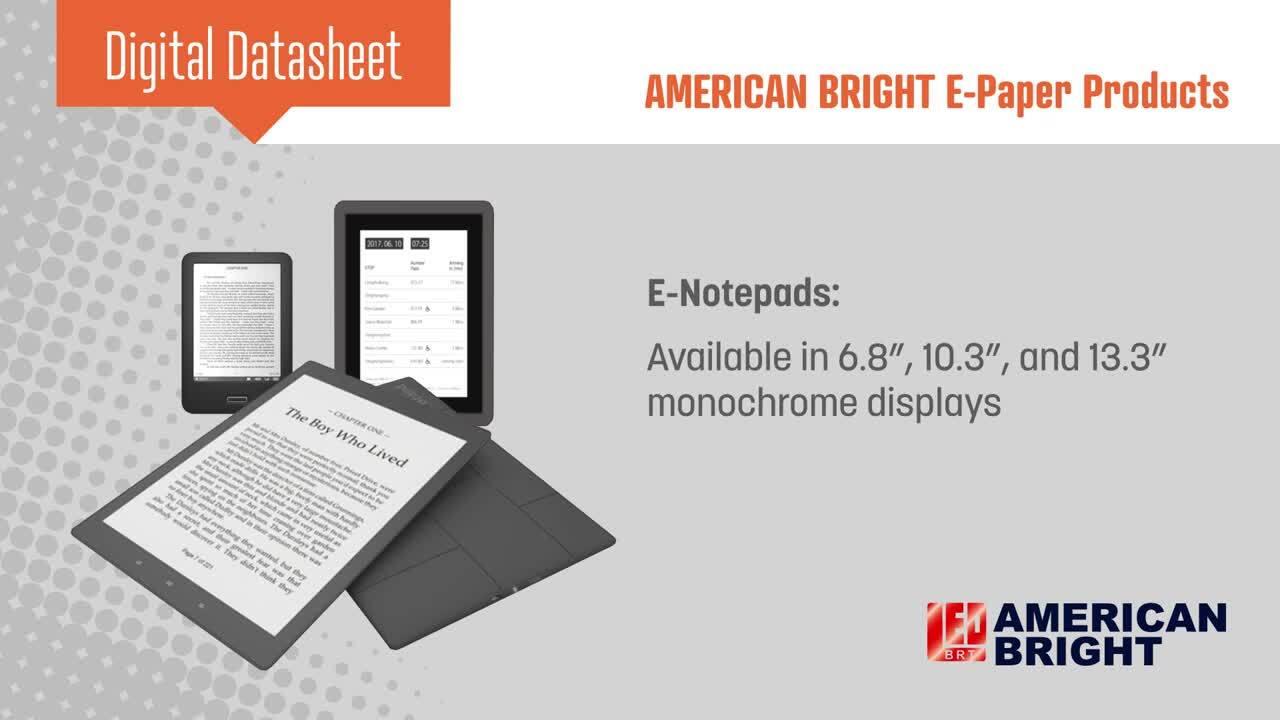 American Bright E-Paper
