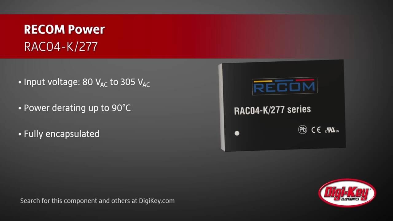 RECOM RAC04-K/277 | Digi-Key Daily