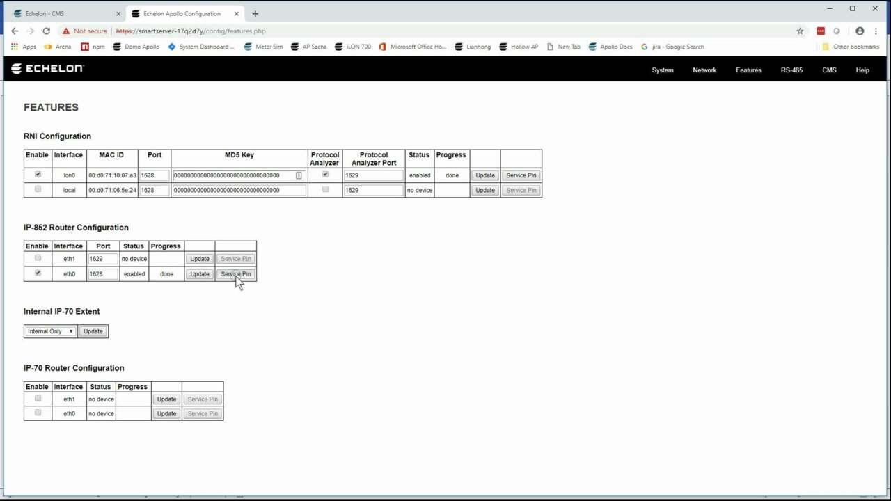 SmartServer IoT tool