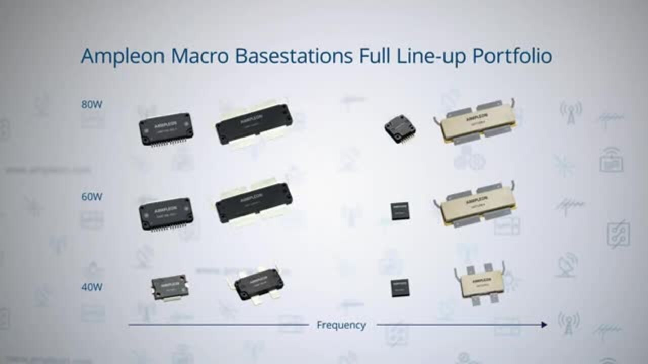 Ampleon Powers 5G Base Stations