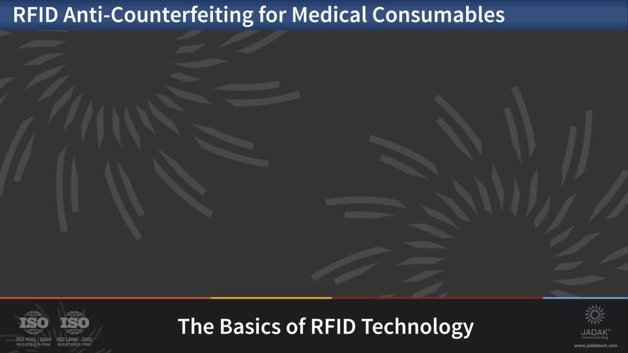 JADAK Medical RFID Anti-Counterfeiting