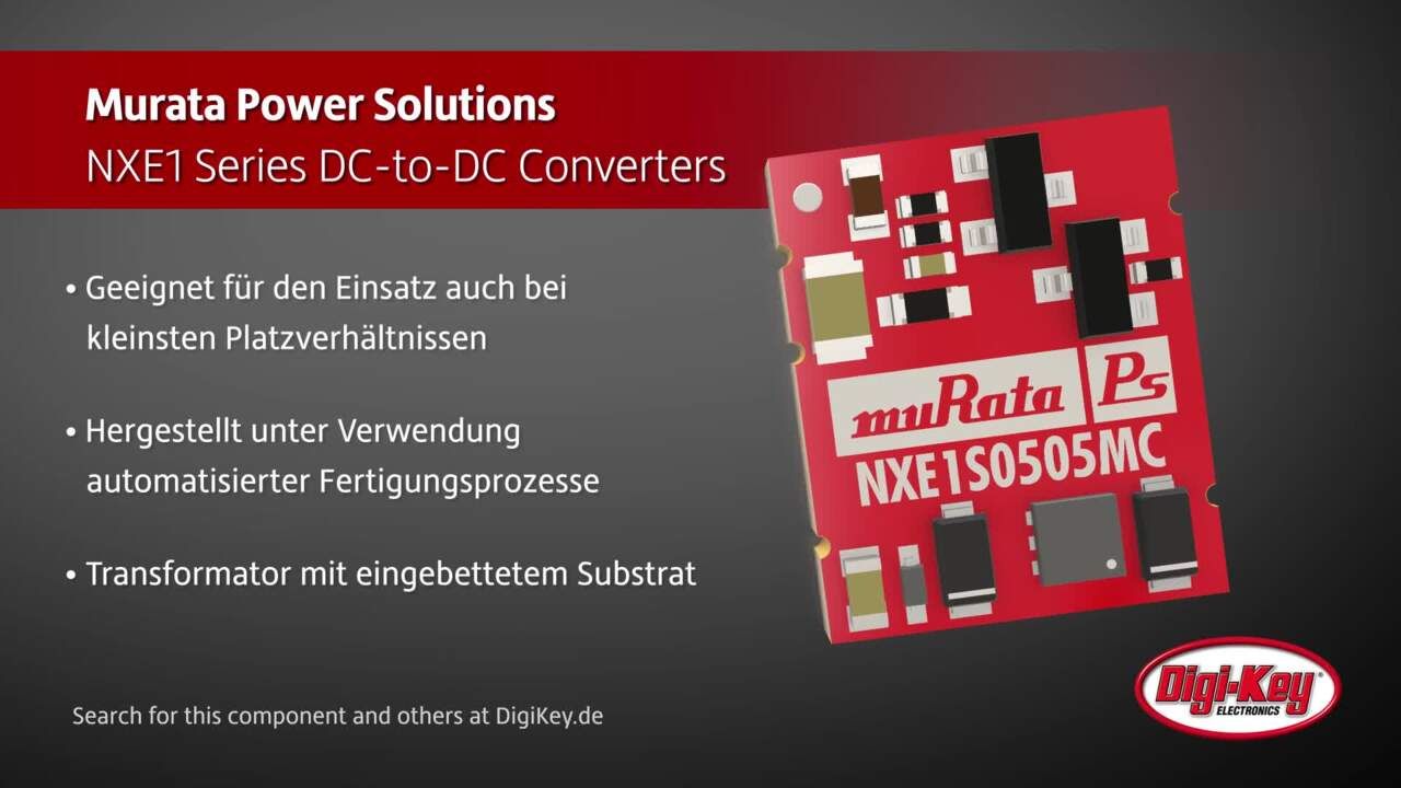 Murata NXE1 Series DC/DC Converter | Digi-Key Daily