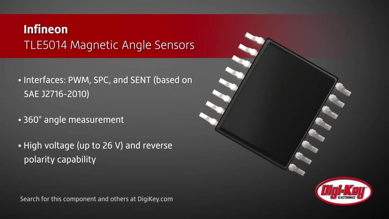 Infineon TLE5014 Magnetic Angle Sensors | Digi-Key Daily