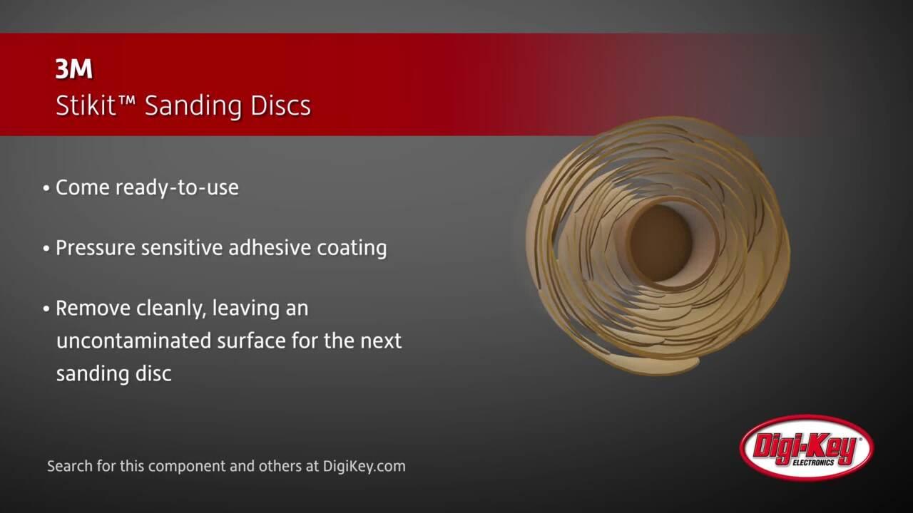 3M Stikit™ Sanding Discs | Digi-Key Daily