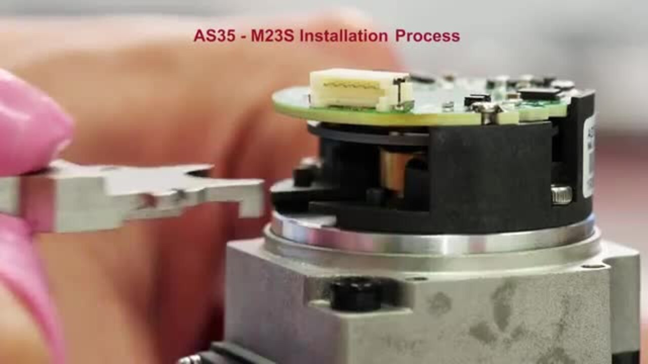 AS35 23Bits Absolute Encoder