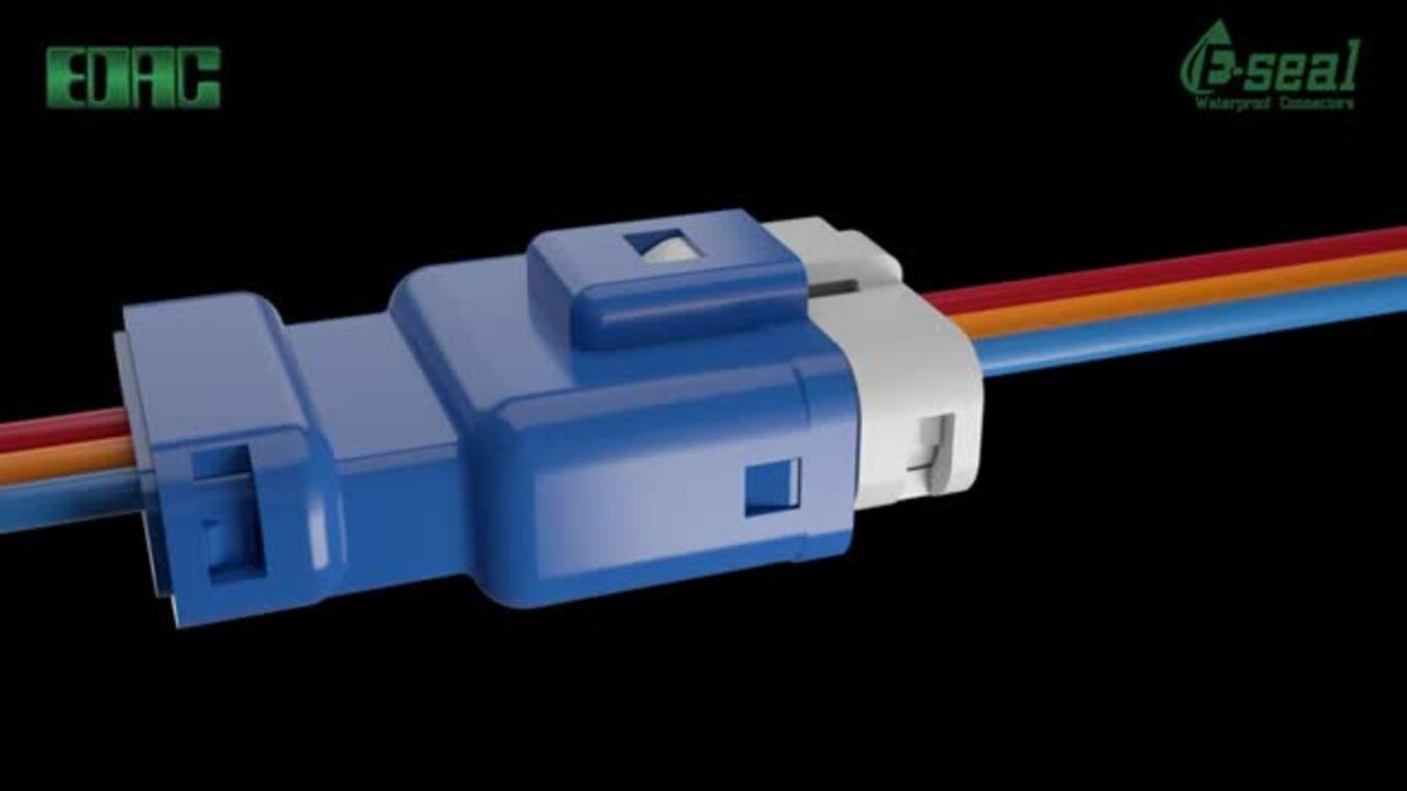 EDAC Inline Plug & Socket | Waterproof Connectors