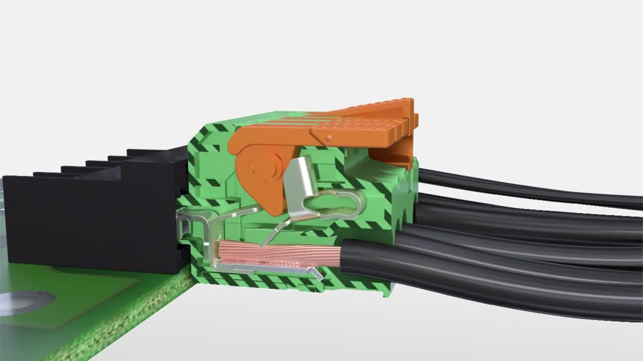 Lever Actuated PCB Connectors