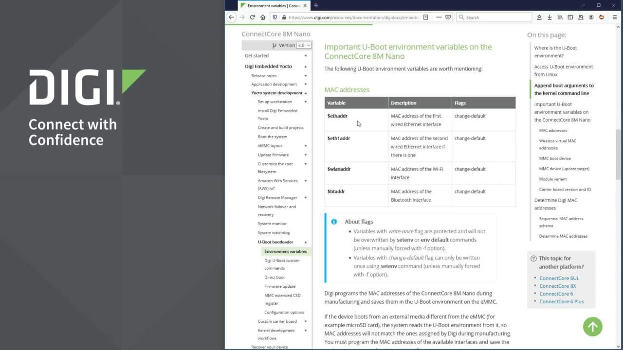Digi ConnectCore Wireless Integration Demo