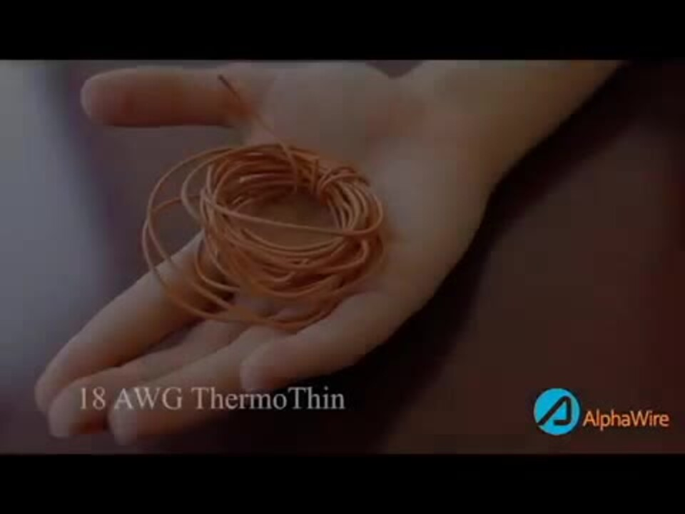 Introducing ThermoThin High Temperature Hook-Up Wire