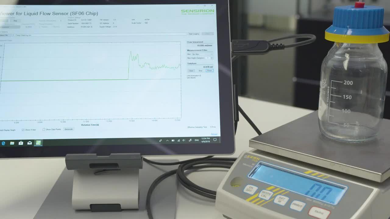 Sensirion Liquid Flow Sensors: Performance & Repeatability