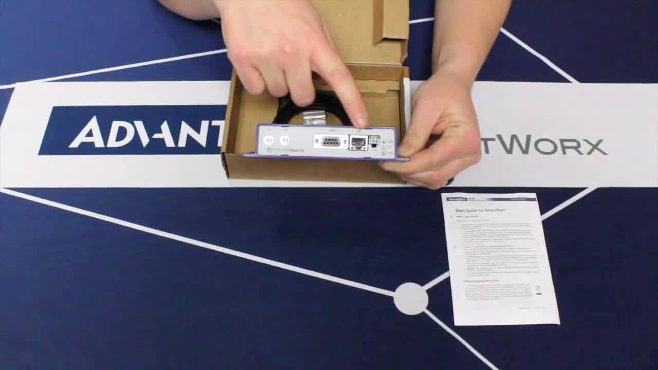 Unboxing a SmartStart LTE Router