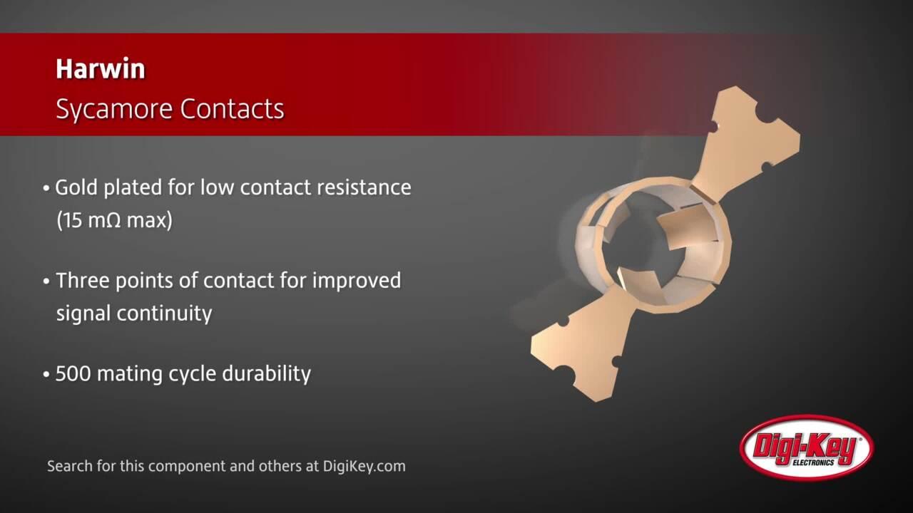 Harwin Sycamore Contacts | Digi-Key Daily