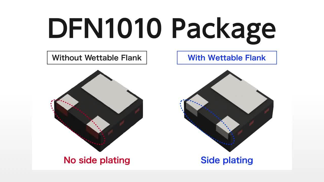 Wettable Flank Package-DFN1010-3W