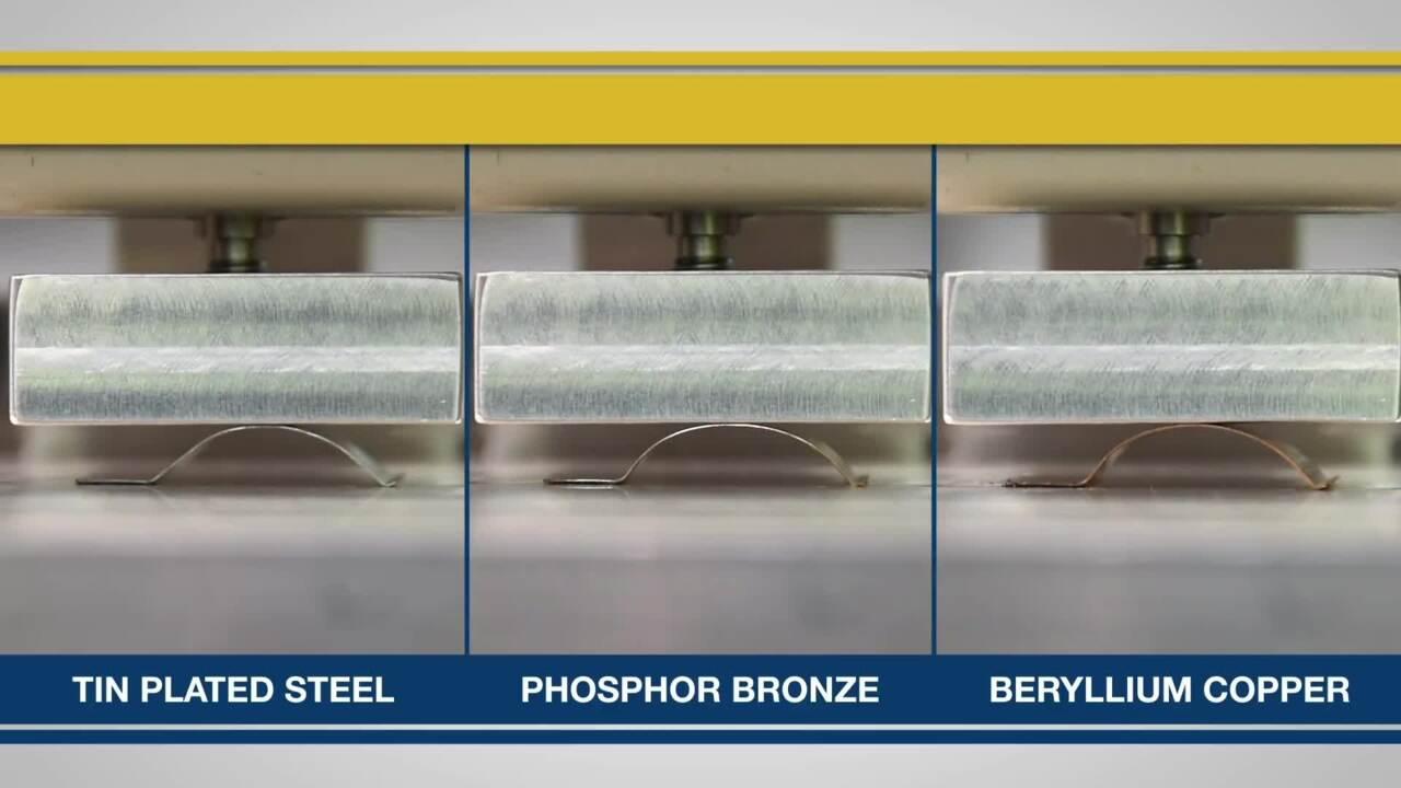 Beryllium Copper for Superior Spring Characteristic