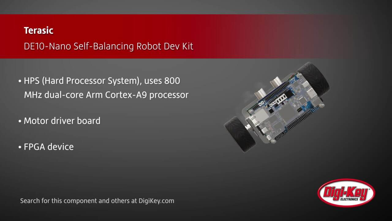 Terasic DE10-Nano Self-Balancing Robot Dev Kit | Digi-Key Daily