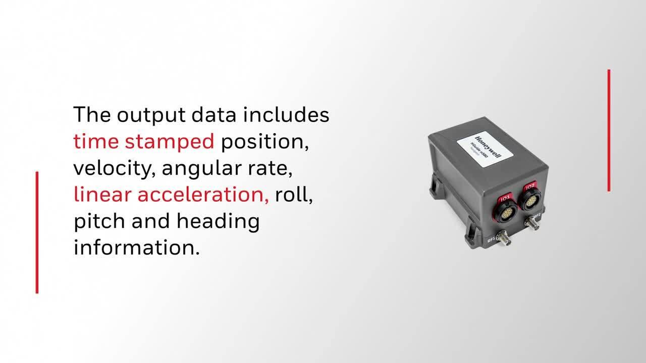 Honeywell's HGuide n580 Inertial/GNSS Navigator