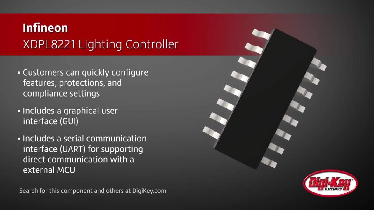 Infineon XDPL8221 Lighting Controller | Digi-Key Daily