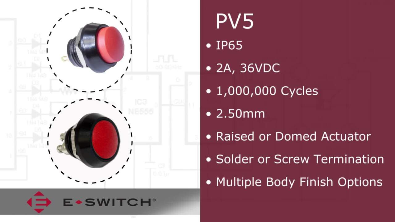 E-Bits – PV5 Anti-Vandal Switch