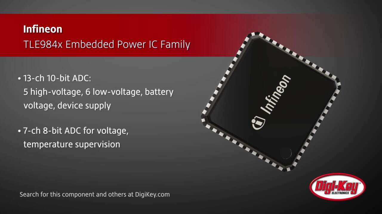 Infineon TLE984x Embedded Power IC | Digi-Key Daily