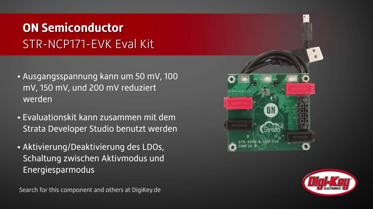 ON Semiconductor STR-NCP171-EVK Eval Kit | Digi-Key Daily