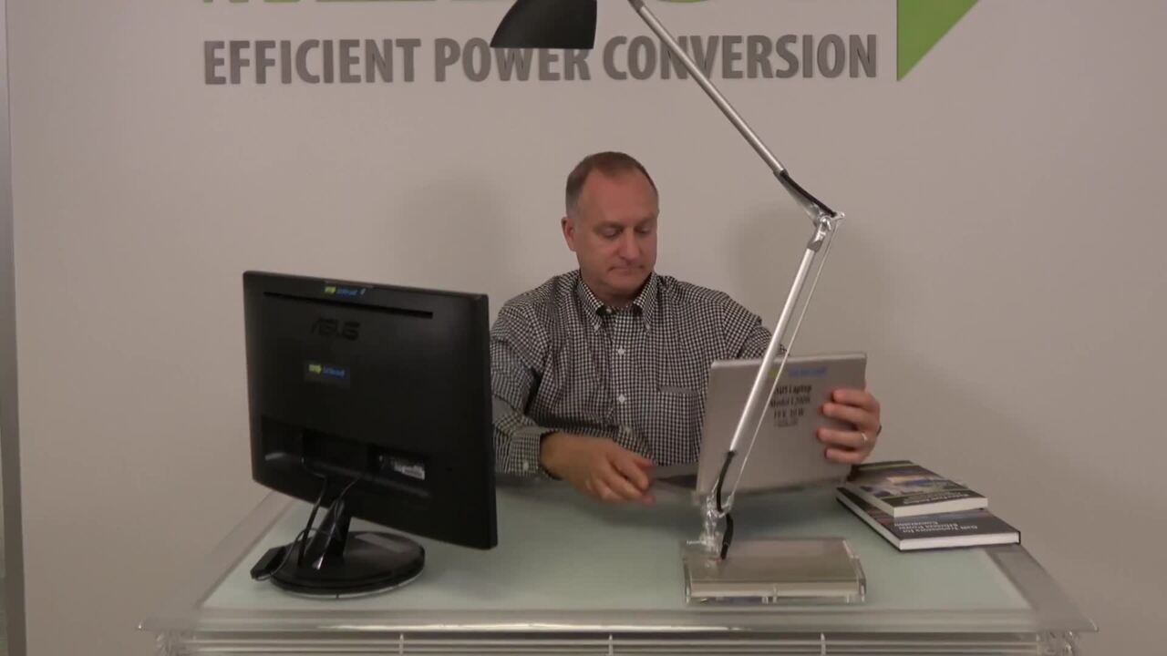 300 W GaN-Based Wirelessly Powered Smart Desk at CES 2018