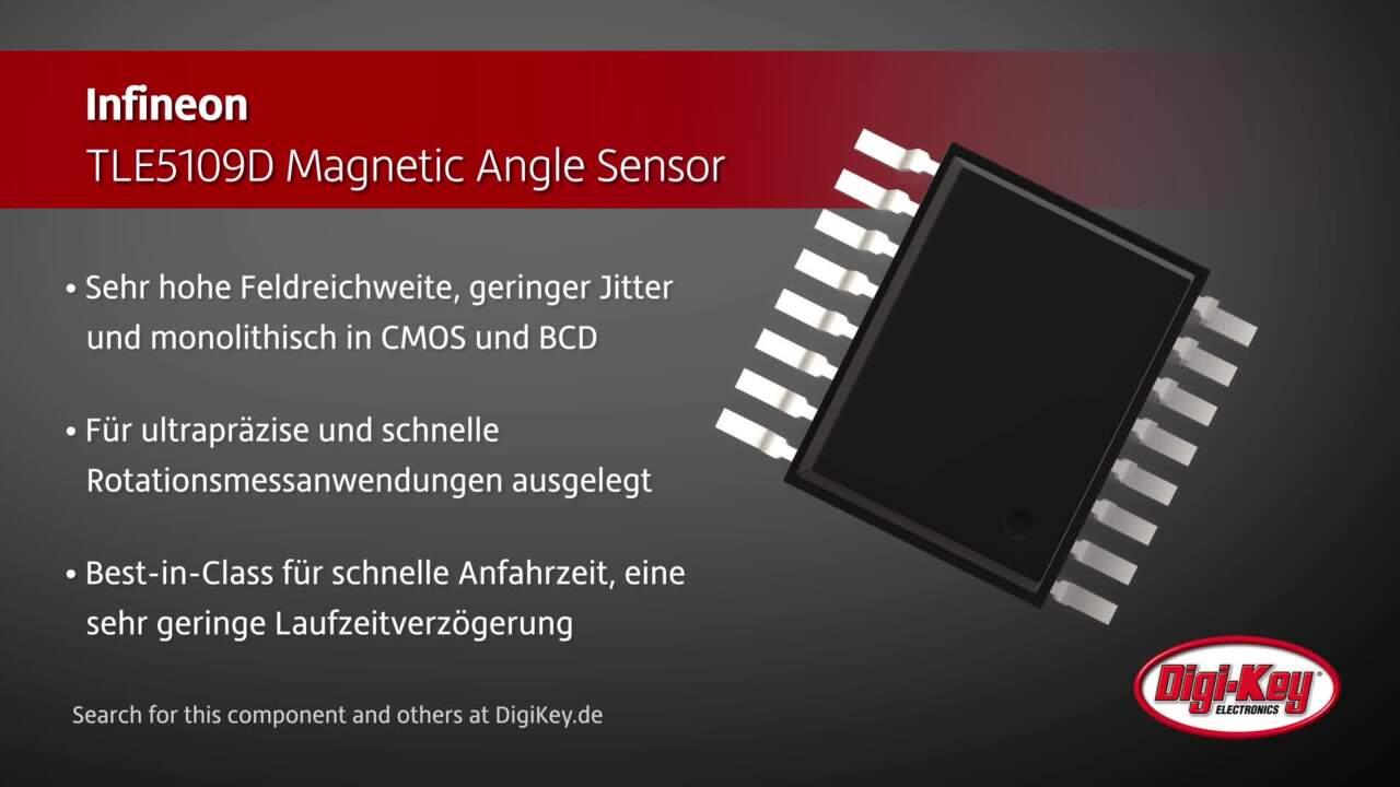 Infineon TLE5109D Magnetic Angle Sensors | Digi-Key Daily