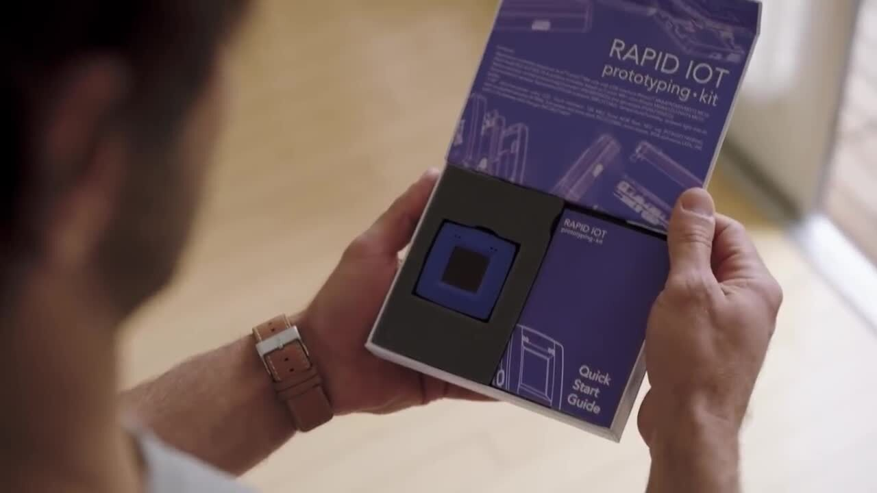 The new Rapid IoT prototyping kit from NXP